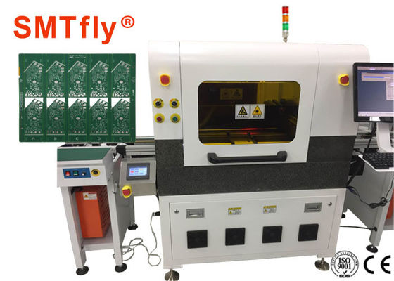 Cina Inline PCB Singulation / Laser PCB Depaneling Machine Friendly Interface pemasok