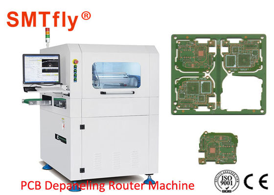 Cina 0.5mm Cutting Mesin Separator PCB Air Compression Cooling Type SMTfly-F03 pemasok