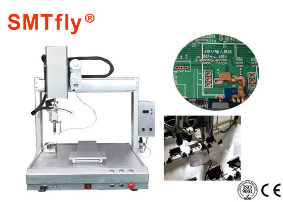 Printed Circuit Boards Robotic Selective Soldering Machine PID Mengontrol SMTfly-411