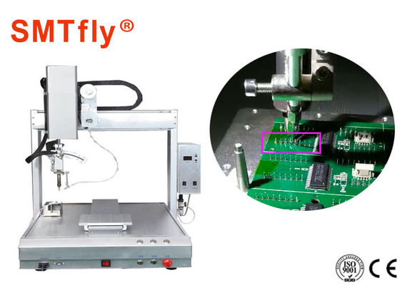 0.02mm Presisi PCB Robotic Soldering Machine Untuk Welding Circuit Board SMTfly-411